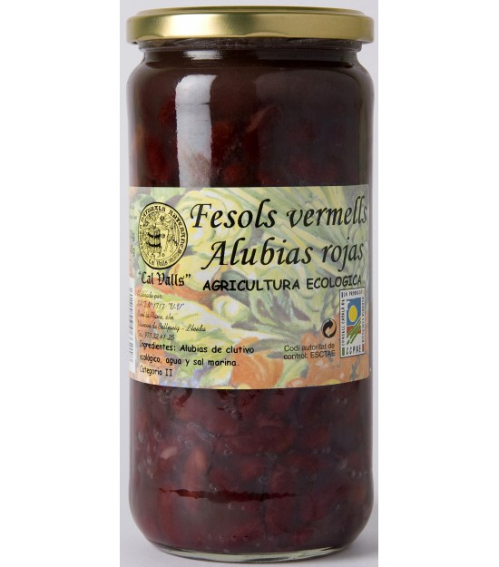 Alubias ROJAS cocidas 720 g. Cal Valls