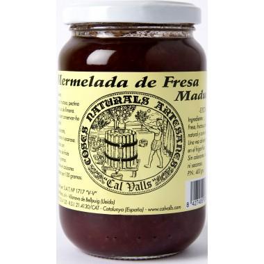 Mermelada de FRESA 400 g. Cal Valls