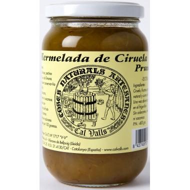 Mermelada de ciruela  370 g Cal Valls
