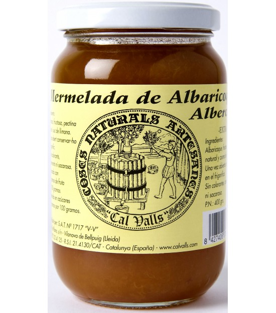 Mermelada de albaricoque 370g. Cal Valls