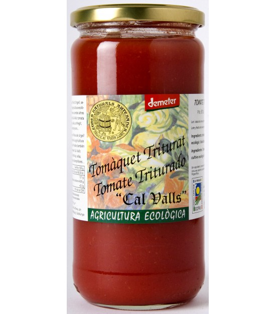 Tomate triturado 670 g Bio Cal Valls