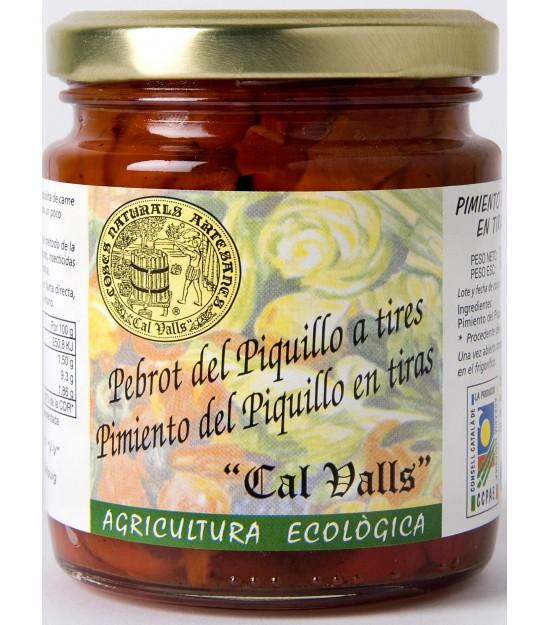 Pimiento del piquillo en tiras 200 g Bio Cal Valls