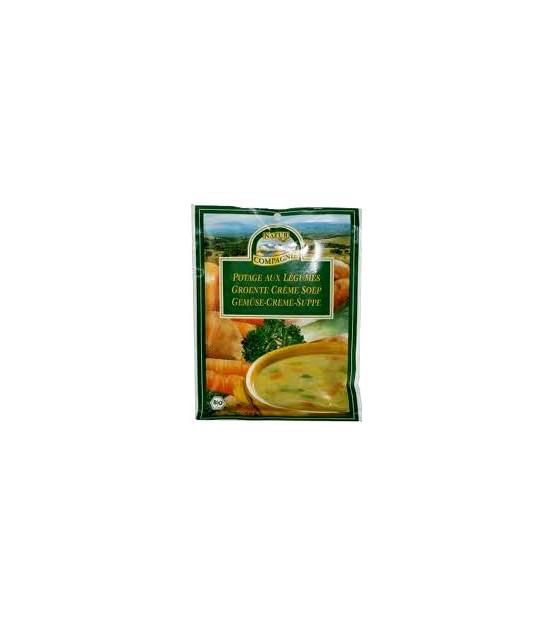 Sopa de VERDURAS con PASTA 50 g. Natur Compagne