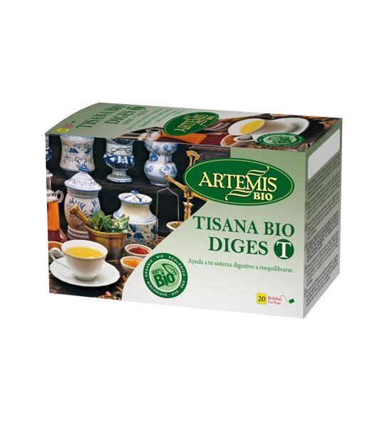 Tisana DIGEST 20 filtros Artemis