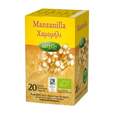 Infusión MANZANILLA 20 filtros Artemis