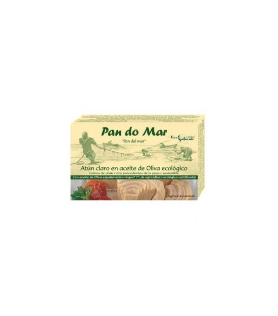 ATÚN CLARO en aceite de oliva 120 g. Pandomar