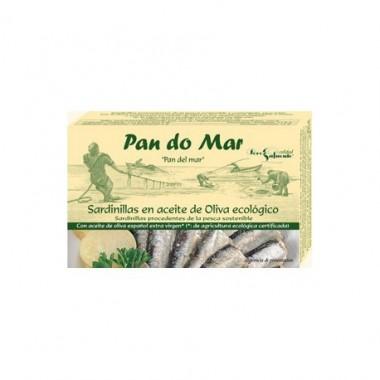 SARDINAS en aceite de oliva 120 g. Pandomar
