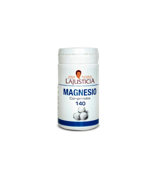 MAGNESIO 140 comp. AM Lajusticia