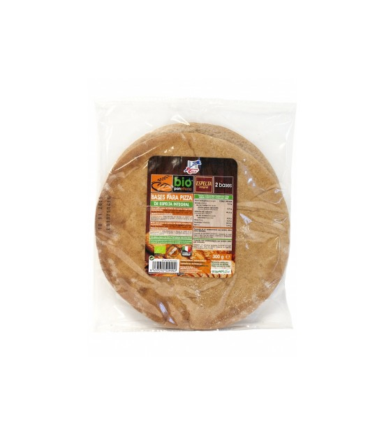 Base de pizza ESPELTA integral 300 g. La Finestra