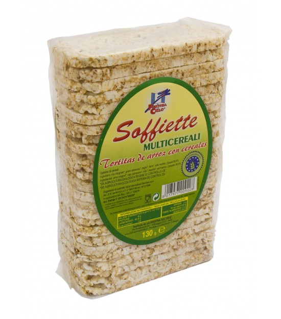 Soffiette de arroz MULTICEREAL 130 g. La Finestra