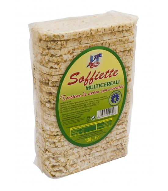 Soffiette de arroz multicereal 130gr.