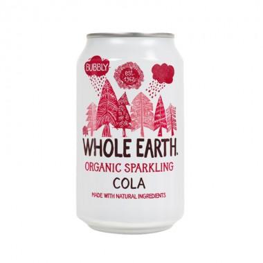 Refresco de COLA sin azúcar 330 ml. Whole Earth