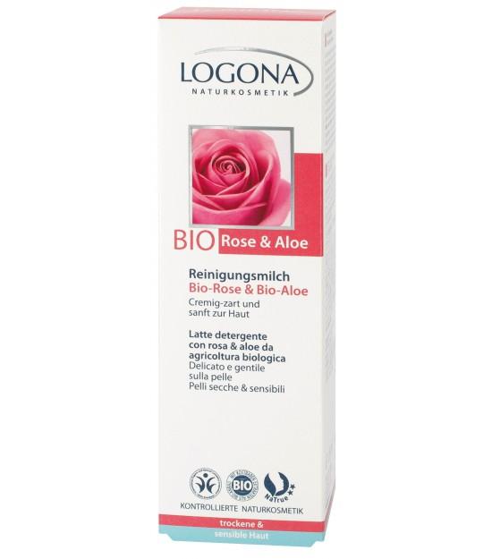 Leche limpiadora Rosas Bioy Aloe Bio. Logona