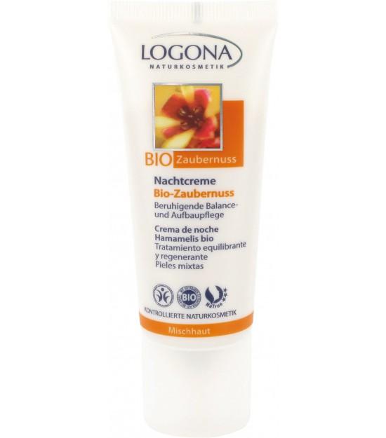 Crema de noche Hamamelis Bio Logona