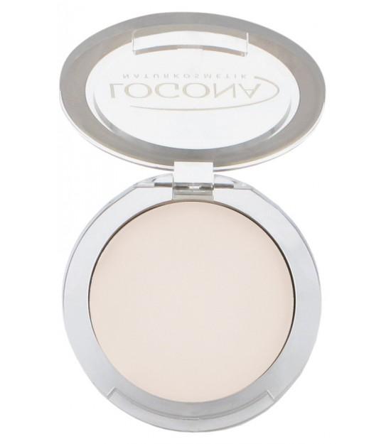 Maquillaje polvo compacto light beige 01