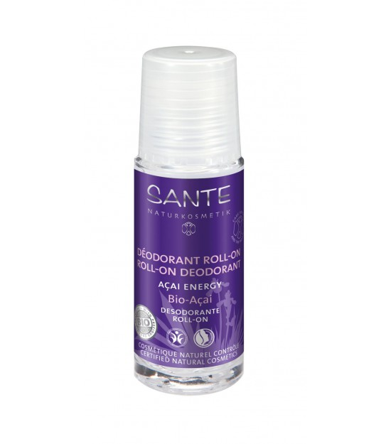 Desodorante roll-on Acai Energy. Sante