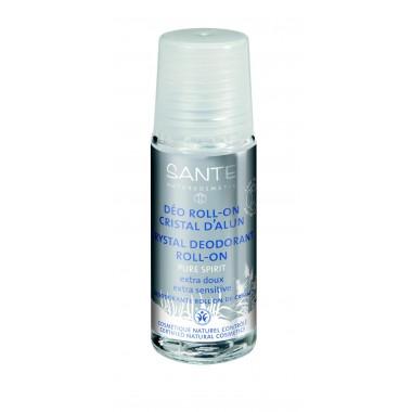 Desodorante roll-on mineral PURE SPIRIT 50 ml Santé