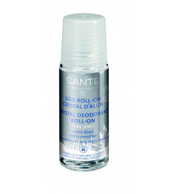 Desodorante roll-on mineral PURE SPIRIT 50 ml Santé