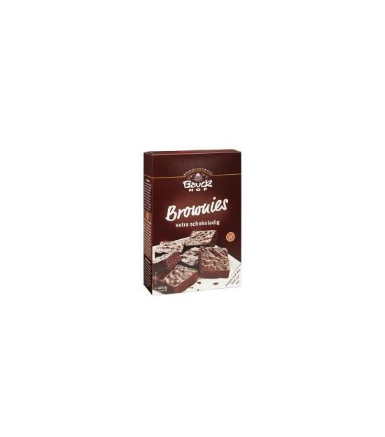 BROWNIES premezcla s/g 400 g. Bauck Hof