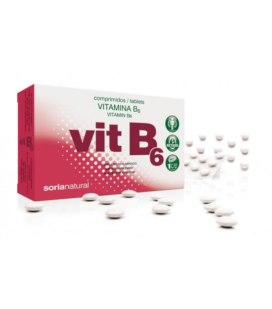 VITAMINA B6 48 comprimidos Soria Natural
