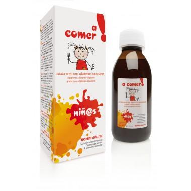 Jarabe infantil A COMER 150 ml. Soria Natural