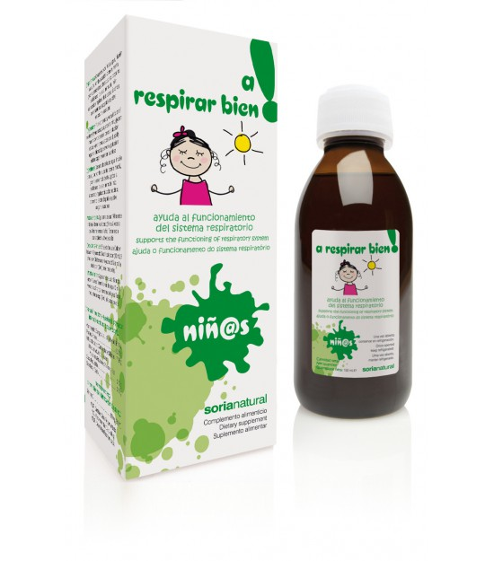Jarabe infantil A RESPIRAR 150 ml. Soria Natural