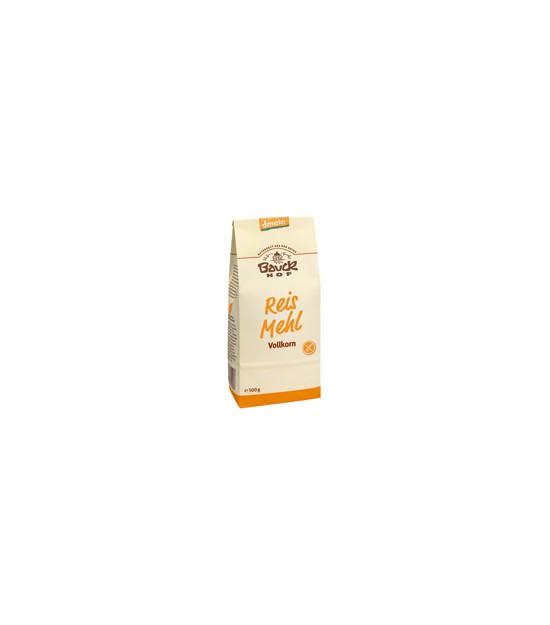 Harina ARROZ integral s/g 500 g Bauck Hof