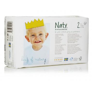 Pañales Mini talla 2, 3-6 kg. 34 ud. Naty