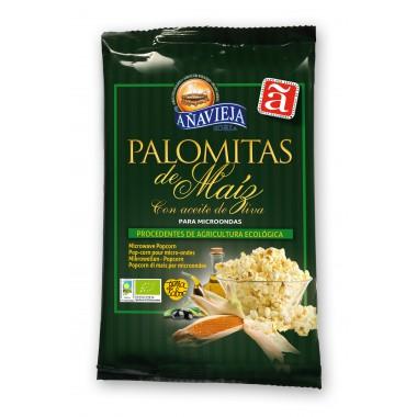 PALOMITAS maiz para Microondas 100 g Añavieja