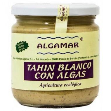 TAHÍN BLANCO con ALGAS 320 g. Algamar