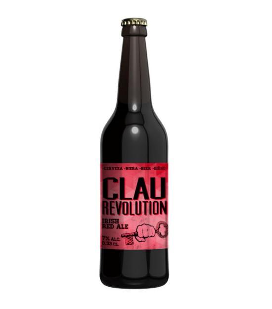 Cerveza CLAU REVOLUTION 0,33 l. Ordio Minero