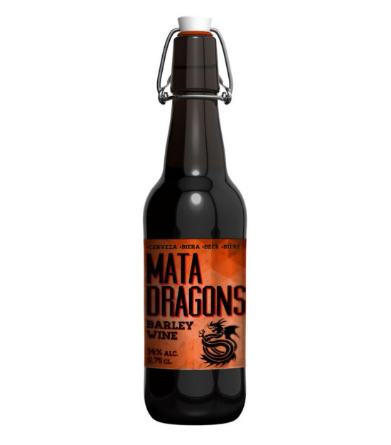 Cerveza MATADRAGONS 0,75l. Ordio Minero
