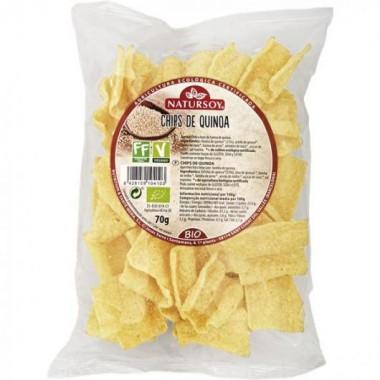 Chips de QUINOA 70 g. Natursoy