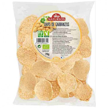 Chips de GARBANZOS 70 g. Natursoy