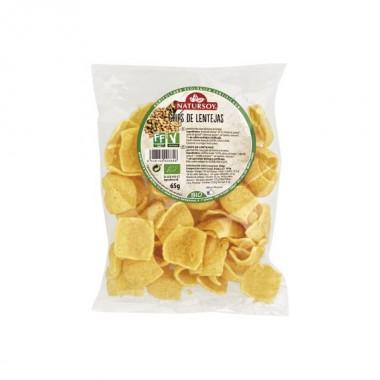 Chips de LENTEJAS 65 g. Natursoy