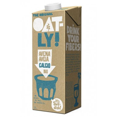 Bebida AVENA CALCIO 1 l. Oatly