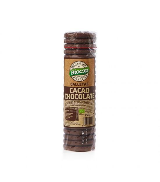 Galleta CACAO CHOCO 250 g. Biocop
