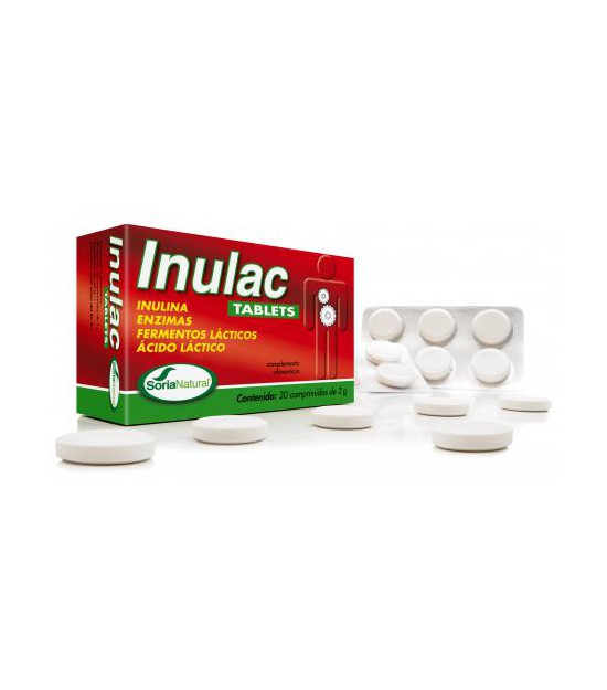 INULAC TABLETS 30 comp. Soria Natural