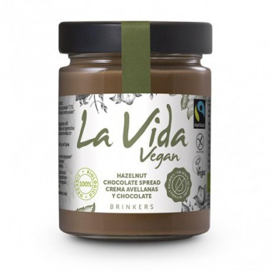 Crema CHOCOLATE AVELLANA 270 g Vida Vegan