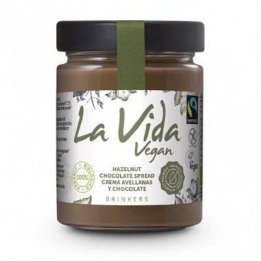 Crema CHOCOLATE AVELLANA 270 g Vida Vegan