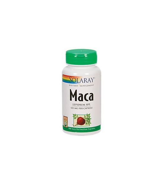 MACA 525 mg 100 cápsulas Solaray