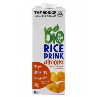 Bebida ARROZ y ALMENDRA 1 l. The Bridge