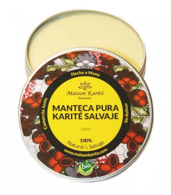 MANTECA de KARITÉ pura 100 ml. Maison Karité