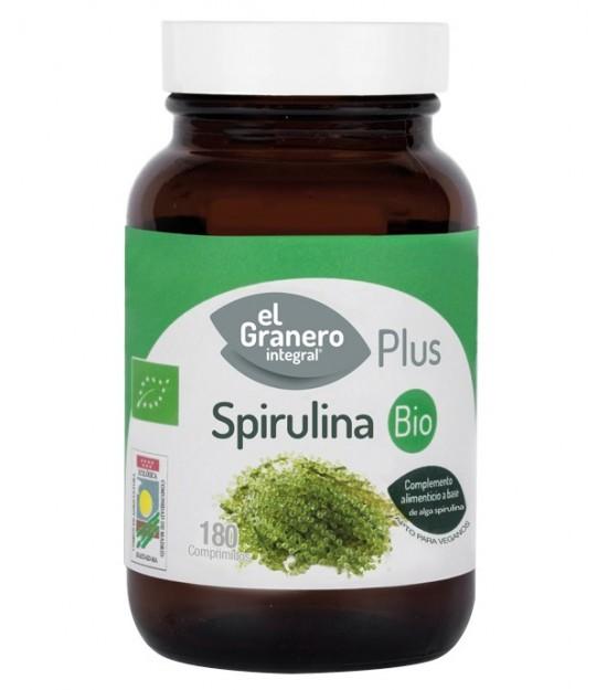 ESPIRULINA 180 comp. 400 mg. El Granero