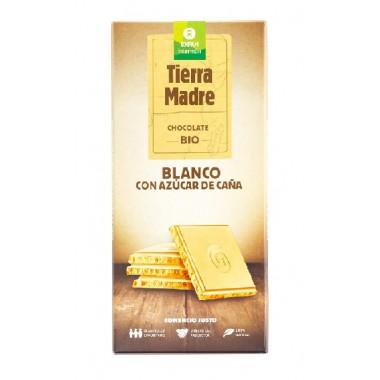 Tableta choco BLANCO con MASCOBADO 100 g. Intermon