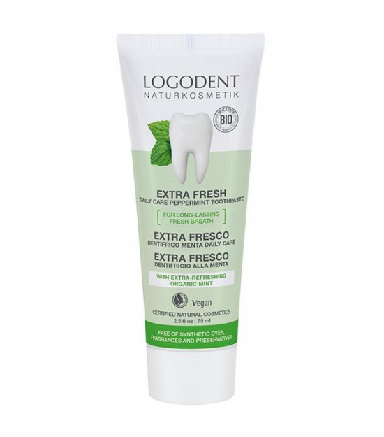 Dentífrico EXTRA FRESCO Daily care 75 ml Logodent