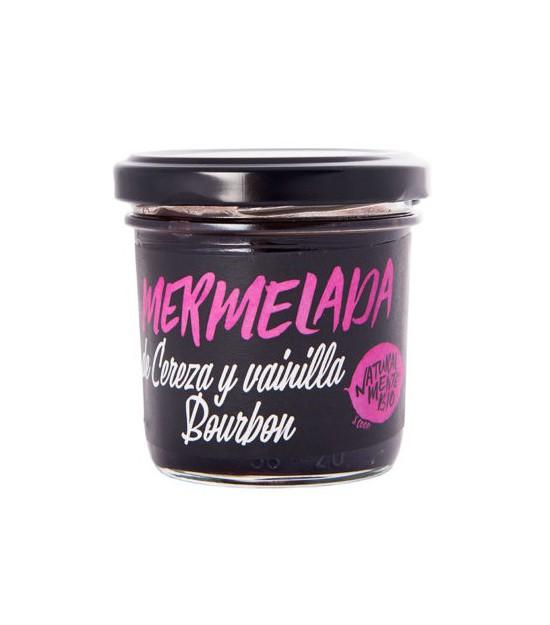 Mermelada CEREZA y VAINILLA 120 g Naturalmentebio