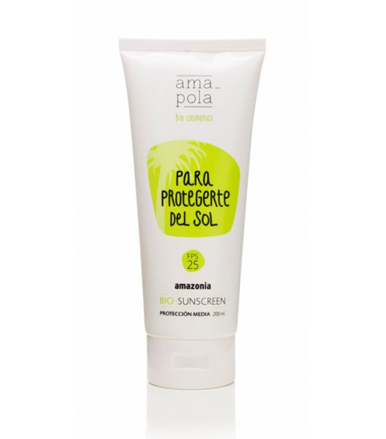 Para protegerte del sol 25 FPS 200 ml. Amapola