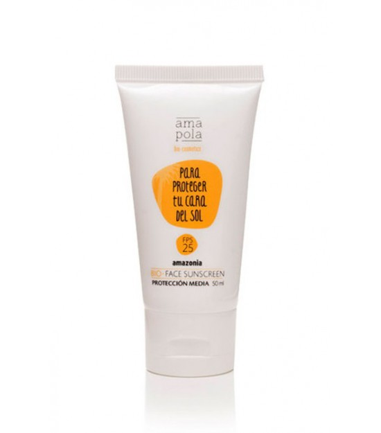 Para protegerte del sol 25 FPS 50 ml. Amapola