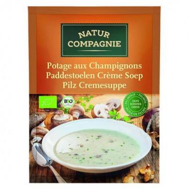 Crema de CHAMPIÑONES 40 g. Natur Compagnie